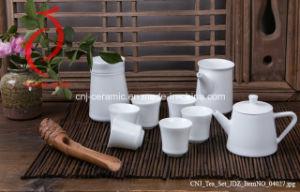 Excellent Quality Chinese Design Jingdezhen Ceramic Glazed Tea Sets 6 Cup