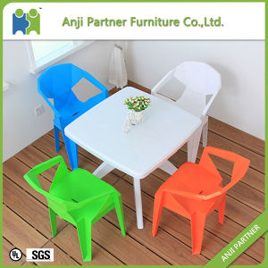 Garden Furniture Durable Outside Plastic Dining Table and Chair (Jerry) pictures & photos