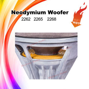 2262HPL 12′′ Portable Neodymium Woofer pictures & photos
