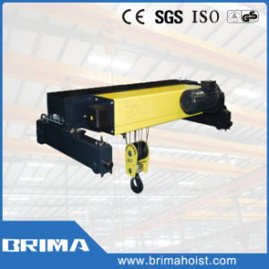 High Quality Double Girder Electric Wire Rope Hoist with Abm Motor pictures & photos