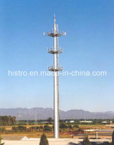 Telecommunication Monopole Tower pictures & photos