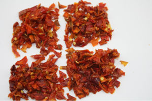 Dehydrated Red Bell Pepper Granules pictures & photos