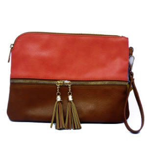 High Quality Soft PU Leather Handbag Cheap Shoulder Bag