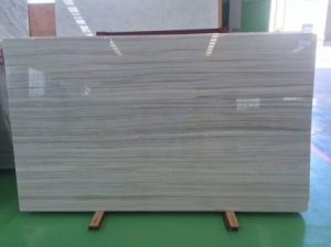 First-Class Gray Wooden Marble Cut-to-Size for Floor Step/Stair Wall