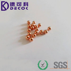 High Precision Copper Plated Ball pictures & photos