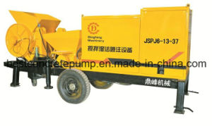 Jspj6-13-37 Refractory Materials Wet Spraying Concrete Machine, Concrete Mixer Machine
