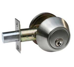 Stainless Steel Brass Zinc Alloy Deadbolt Door Lock Aj-004 pictures & photos