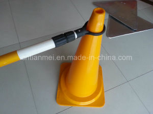 New PVC Road Safety Cone, Traffic Cone with Retractable Pipe pictures & photos