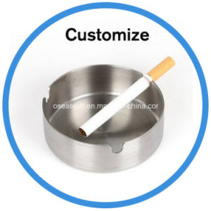 Custom Bamboo Stainless Steel Personalized Ashtray pictures & photos