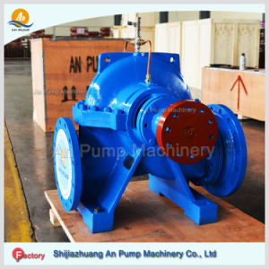 Double Suction Centrifugal Split Case Pump 40 M Head Discharge Flow Electric Water Pump pictures & photos