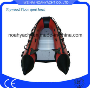 Inflatable Boat with Outboard Motor/Engines pictures & photos