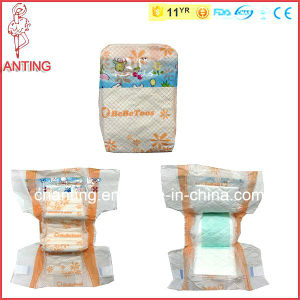 Baby Diaper for Afghanistan, Comfortable Baby Nappy. China Factory of Baby Diaper, PP Tape/PE Film Softable Baby Diaper pictures & photos
