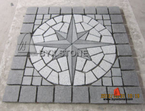 Grey Granite Natural Driveway Paving Stone/Cobblestone pictures & photos