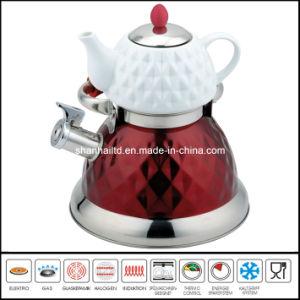 2.7L+0.75L Double Kettle with Tea Pot Multi-Functional Kettle pictures & photos