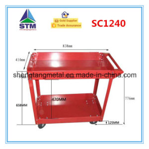 High Quality Plastic Service Cart pictures & photos