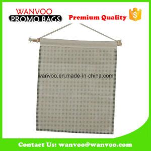 100% Cotton Hanging Canvas Pocket Organizer Storage Bag pictures & photos