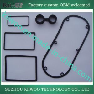Silicone Rubber Flat Gaskets with Glue pictures & photos