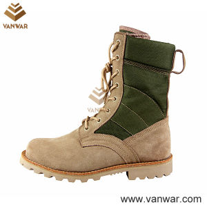 Goodyear Welt Slip-Resistant Desert Military Boots (WDB024) pictures & photos