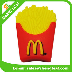 Promotional Gifts 3D Rubber Customized PVC USB Flash Drives (SLF-RU027) pictures & photos