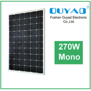 for Home System Mono Solar Panel Module 270W with High Effiency, Ce, ISO Certificates pictures & photos