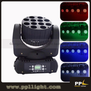 12X12W RGBW Beam LED Moving Heads Light pictures & photos