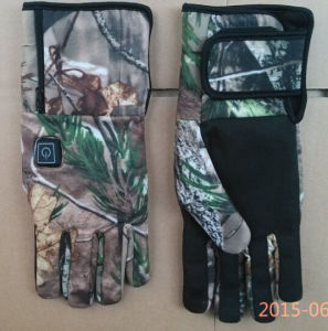 Battery Heated Hunting Gloves pictures & photos