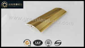 Glt156 Aluminum Wood Flooring Joint Trims with Gold Anodised pictures & photos