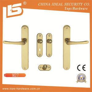 High Quality Brass Door Lock Handle-M27 pictures & photos