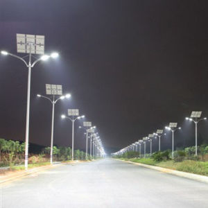 40W Double Arm Solar LED Street Light pictures & photos
