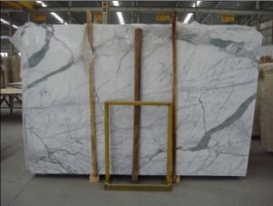 Chinese Calacatta White Marble Price pictures & photos