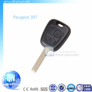 Uiversal Auto Key for Peugeot 307 with 2 Buttons pictures & photos