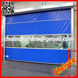 Roll up Industrial Shutter Fast Plastic Door (ST-001) pictures & photos