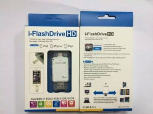 8GB, 16GB, 32GB 64GB Full and Real Capacity Iflash Drive for iPhone pictures & photos