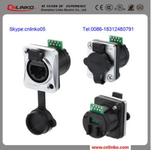China Factory Solder RJ45 Connector for Date Cable LED Display pictures & photos