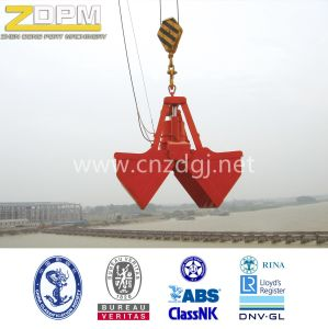 Electric Rope Clamshell Offshore /Shipyard/ Sea Grab  pictures & photos