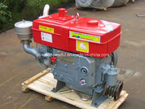 Water Cooled Diesel Engine with Water Pump pictures & photos