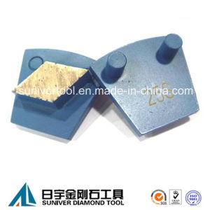 Werkmaster Machine Diamond Grinding Segment for Concrete pictures & photos