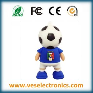 Football Team Garget USB Memory High Quality Silicon Pen Drive pictures & photos