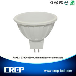 6W AC/DC12V Dimmable LED Spot Lighting MR16 Gu5.3 pictures & photos