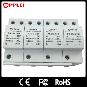 Ce Lightning Arrester T1 DIN Rail AC Power Surge Protector pictures & photos