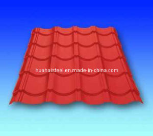 Profiled Roofing Steel Sheet (Yx35-125-750) pictures & photos