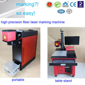 Cheap Fiber Laser Marking Machine for Metal, Laser Marking System pictures & photos