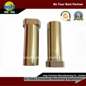 CNC Brass/Copper Lathe Turned Parts pictures & photos
