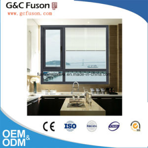 New Design Aluminum House Windows Frame Factory Frosted Glass Double Glazed pictures & photos