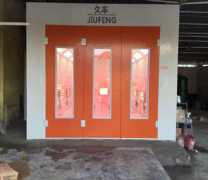Painting Booth Spray Booth Car Spray Painting Booth Painting Room Bake Heat by Infrared Ray Car Clean Cabinet pictures & photos