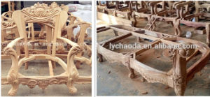 CNC Wood Lathe Machine, Copying Lathe for Wood pictures & photos