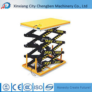 3 Ton Hydraulic Scissor Lift at a Discount pictures & photos