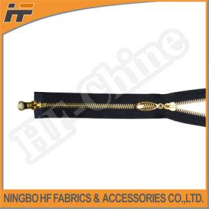 5# Two-Way Open-End Golden Brass Zipper