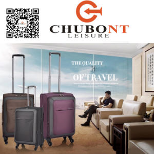 Chubont Hot Selling Waterproof Nylon Spinner Wheels Luggage Set pictures & photos