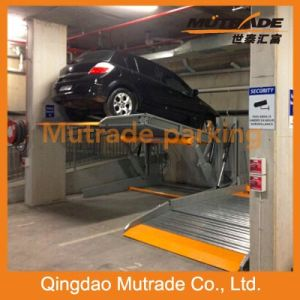 Two Post Home Use Tilting Parking Equipment Car Hoist Lift pictures & photos